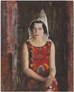Boris Dmitrievich Grigoriev - chica de California