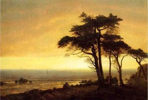 Albert Bierstadt - California La costa