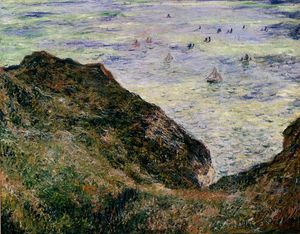 Claude Monet - vista sobre el mar