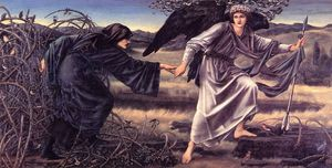 Edward Coley Burne-Jones - El amor Leading The Pilgrim