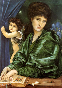 Edward Coley Burne-Jones - maria zambaco