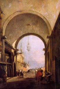 Francesco Lazzaro Guardi - intitulado