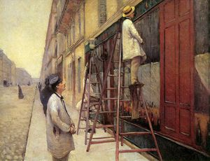 Gustave Caillebotte - Los pintores signo solar