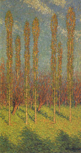 Henri Jean Guillaume Martin - Chopos en resorte
