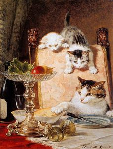 Henriette Ronner Knip - ameurs les delaware fromage terraza