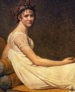 Jacques Louis David - Recamier madame