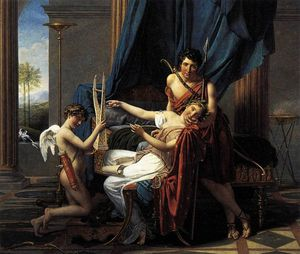 Jacques Louis David - Safo y Phaon