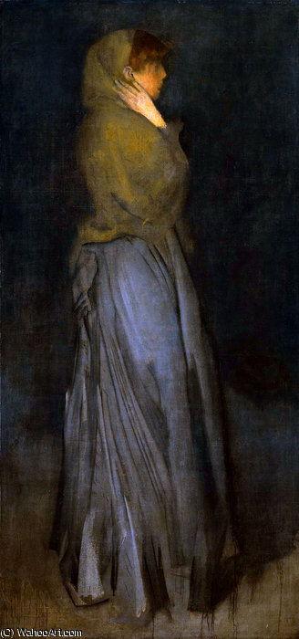 acuerdo effie decanos  gafasoscuras  de James Abbott Mcneill Whistler (1834-1903, United States)