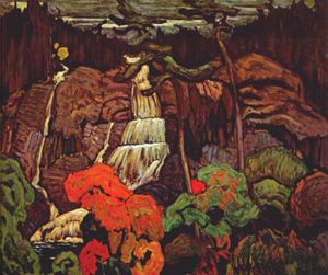 James Edward Hervey Macdonald - algoma catarata