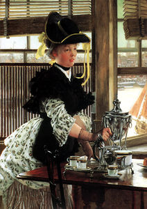 James Jacques Joseph Tissot - té tiempo