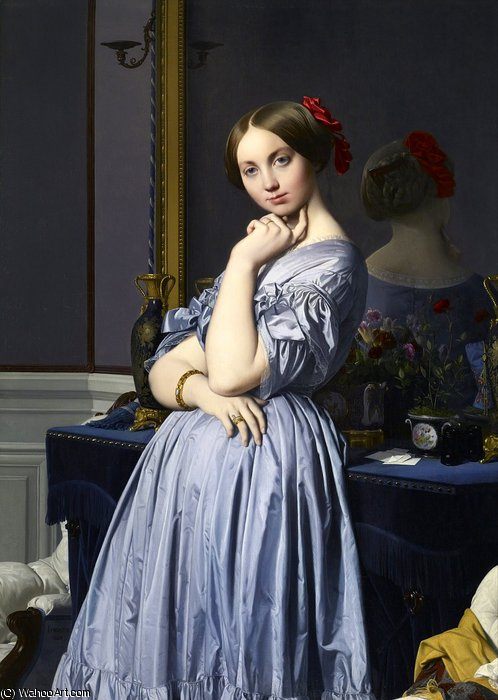 vizcondesa othenin de Jean Auguste Dominique Ingres (1780-1867, France)