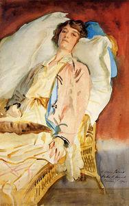 John Singer Sargent - Alice Runnels James (Mrs. William James)
