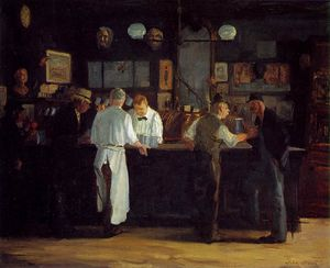 John Sloan - McSorleys bar