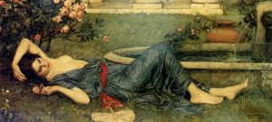 John William Waterhouse - dulce verano