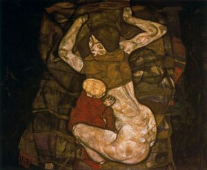 Egon Schiele - untitled (204)
