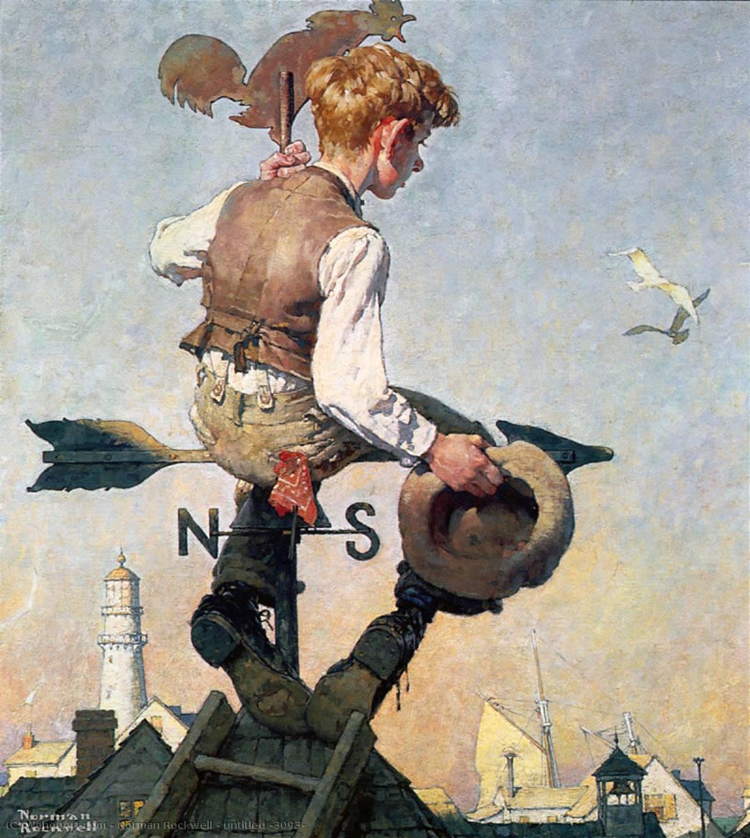 en tapa de mundo de Norman Rockwell (1894-1978, United States) | | WahooArt.com
