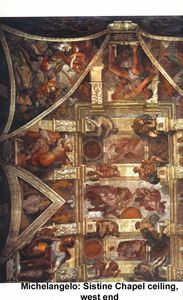 Michelangelo Buonarroti - 5 Capilla Sixtina West End
