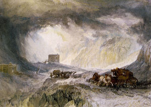 William Turner - Paso del Monte Cenis