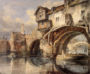 William Turner - Galés Puente Shrewsbury