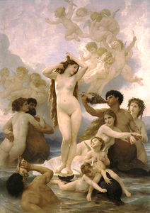 William Adolphe Bouguereau - Naissance delaware Venus