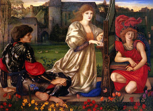 Edward Coley Burne-Jones - Le Cantar d-Amour ( canción de amor )