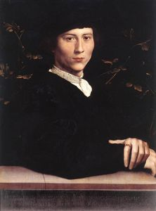 Hans Holbein The Younger - Retrato de Derich Born