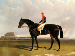 John Frederick Herring Senior - señor industria chesterfields con William Scott arriba en Epsom