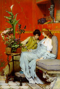 Lawrence Alma-Tadema - Confidencias