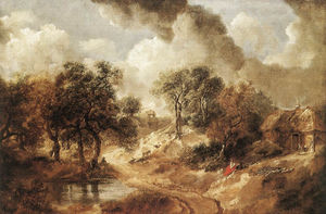 Thomas Gainsborough - paisaje del