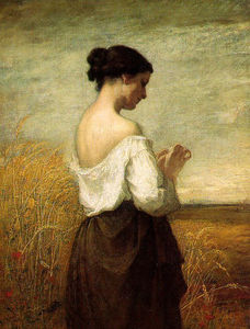 William Morris Hunt - Muchacha campesina