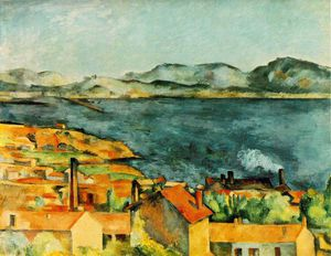 Paul Cezanne - La Bahía de L Estaque