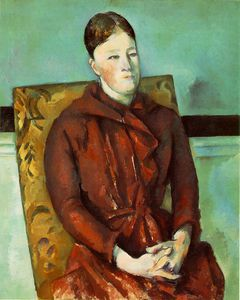 Paul Cezanne - Mme yellowchair
