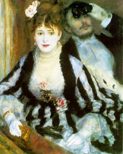 Pierre-Auguste Renoir - La loge , Courtauld Instituto Galler