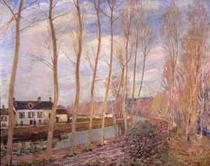 Alfred Sisley - Loing canal