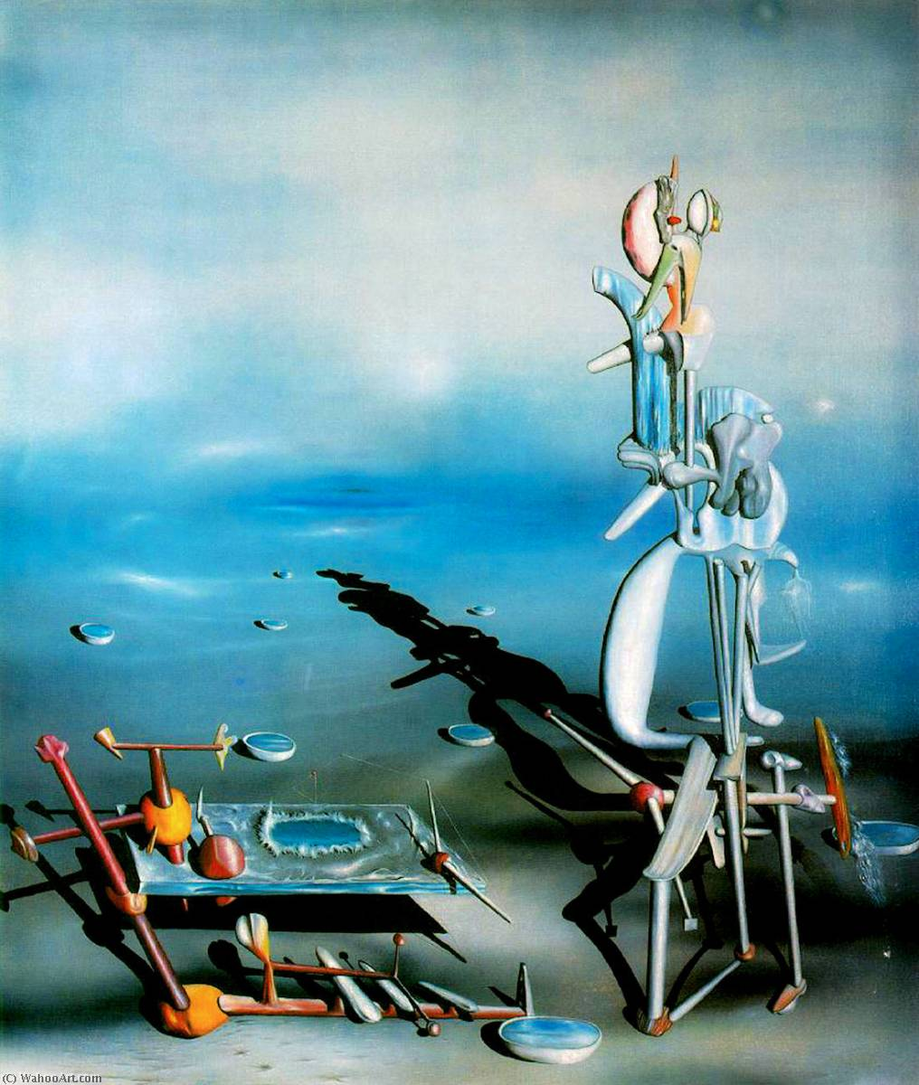 indefinido divisibilidad , 1942 de Yves Tanguy (1900-1955, France) |  | WahooArt.com