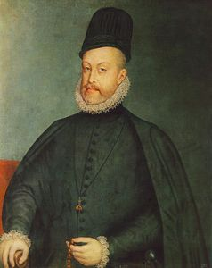 Alonso Sanchez Coello - Retrato de Felipe II