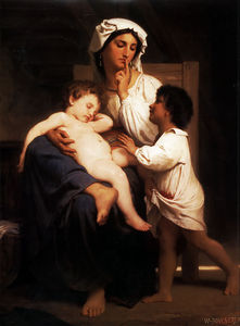 William Adolphe Bouguereau - Dormido a  último