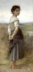 William Adolphe Bouguereau - Jeune bergere
