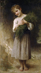 William Adolphe Bouguereau - devuelto de  el  Los campos
