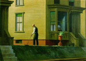 Edward Hopper - Pennsylvania Carbón Ciudad