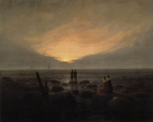 Caspar David Friedrich - por el mar