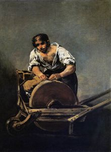 Francisco De Goya - Knife Grinder