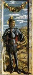 Andrea Mantegna - until1470 -  san  Jorge