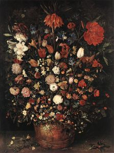 Jan Brueghel The Elder - el gran ramo de flores