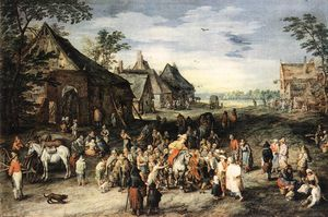 Jan Brueghel The Elder - San Martín
