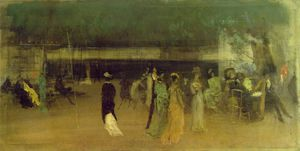 James Abbott Mcneill Whistler - Cremorne jardines
