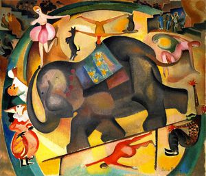 Alice Bailly - el elefante