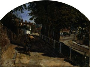 Ford Madox Brown - Brezo calle , hampstead