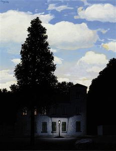 Rene Magritte - L'empire de las luces
