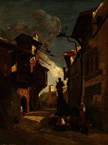 William James Muller - CALLE ITALIANA escena